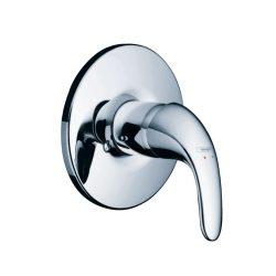 HansGrohe Focus E Egykaros, falsík alatti zuhanycsaptelep színkészlet / króm / 31765000 / 31765 000