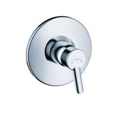 HansGrohe Focus S Egykaros, falsík alatti zuhanycsaptelep színkészlet / króm / 31767000 / 31767 000