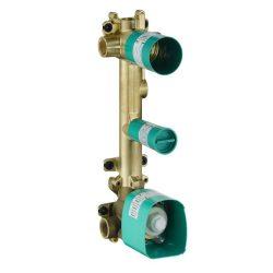 HansGrohe Alaptest falsík alatti termosztátos modul 38 x 12, 2 fogyasztóhoz / 36701180 / 36701 180