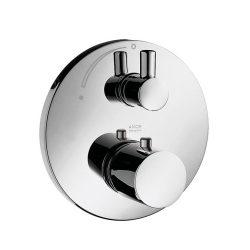 HansGrohe AXOR Uno termosztátos csaptelep falsík alatti szereléshez, elzárószeleppel, króm / 38700000 / 38700 000