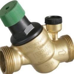 """Honeywell nyomáscsökkentő / nyomásszabályzó / D04FS 1/2"""" / víznyomáscsökkentő, ferdeülésű, 1/2"""" KM, 1,5-6 bar"""