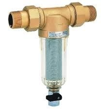 """Honeywell 1/2"""" FF06 átöblíthető finomszűrő / vízszűrő / szűrő, PN16"""
