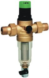 """Honeywell FK06-3/4AA, FK06, 3/4""""-os, átöblíthető finomszűrő / vízszűrő + nyomáscsökkentő / kombinált szűrő nyomáscsökkentővel, PN16, FK-0634AA, Miniplus"""