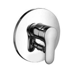 KLUDI OBJEKTA falsík alatti / beépíthető egykaros kád- és zuhanycsaptelep, kerámia vezérlőegység állítható hőfokkorlátozóval 326500575 / 3265005-75 / 32650-05-75
