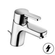 KLUDI LOGO NEO egykaros bojler  mosdócsaptelep / mosdó csaptelep bojlerhez / nyílt rendszerű elektromos vízmelegítőhöz, pálcás leeresztőszeleppel / 372760575