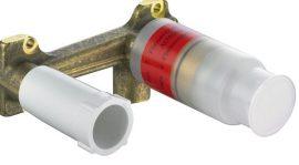 KLUDI BOZZ / E2 / AMBA falsík alatti egység a kétlyukas, falsík alatti, egykaros mosdócsaphoz 38243
