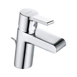 KLUDI O-CEAN egykaros mosdócsaptelep zuhatag vízsugárral, pálcás leeresztő szeleppel 383400575 / 3834005-75 / 38340-05-75