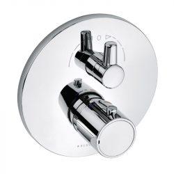 KLUDI O-CEAN / ZENTA falsík alatti termosztátos zuhanycsaptelep látható rész 388350545 / 3883505-45 / 38835-05-45