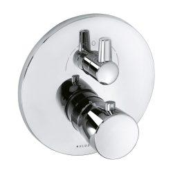 KLUDI BALANCE falsík alatti termosztátos kád/zuhanycsap falon kívüli készlet szabályzóegységgel, króm 528300575 / 5283005-75 / 52830-05-75