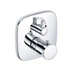 KLUDI AMBA falsík alatti / beépíthető termosztátos kád, zuhanycsaptelep zuhanyváltóval 538300575 / 5383005-75 / 53830-05-75