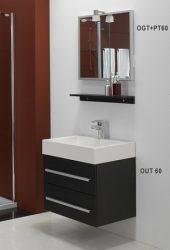 Kolpa San TIA 60 komplett fürdőszobabútor 60x50 cm - 930820 vagy 722560