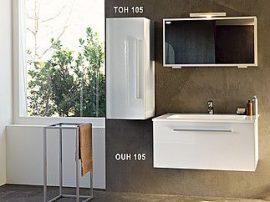 Kolpa San HANA 105 fürdőszoba bútor alsószekrény mosdóval + tükör ( TOH+OUH ) / 714480