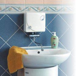 RADECO / KOSPEL EPJ OPTIMUS mosdó 3,5 kW-os átfolyós rendszerű elektromos vízmelegítő csapteleppel