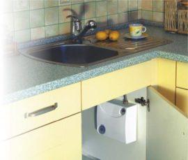RADECO / KOSPEL EPO.G AMICUS 6 kW-os mosogató fölé szerelhető átfolyós rendszerű elektromos vízmelegítő