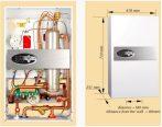 RADECO / KOSPEL EKCO.LN2 p 24 kW elektromos / villany kazán, padló- és falfűtéshez, 400V energiatakarékos