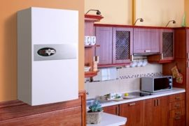 RADECO / KOSPEL EKCO.LN2 z 24 kW elektromos / villany kazán, központi fűtéshez, 400V energiatakarékos