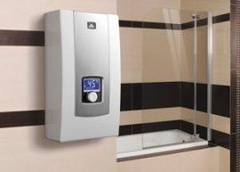 RADECO / KOSPEL PPE2 LCD ELECTRONIC 12 kW-os átfolyós elektromos vízmelegítő, 400V