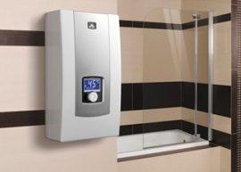 RADECO / KOSPEL PPE2 LCD ELECTRONIC 9 kW-os átfolyós elektromos vízmelegítő, 400V