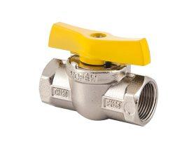 """Mofém Flexum gáz golyóscsap / gömbcsap 1/2"""" BB menettel, nikkelezett, zártházas, gázra, 113-0065-10 / 113006510"""