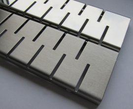 MOFÉM / TEKA Linear MLP-750 M padlósíkra építhető lefolyó / zuhanylefolyó szett, Medium ráccsal (két oldalról réselt), 501-0003-01 / 501000301