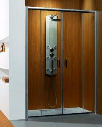 RADAWAY Dolphi Premium Plus DWD 160x190 / 160 cm-es zuhanyajtó / 01 átlátszó üveg / 33363-01-01N, AKCIÓS KÉSZLETKIÁRUSÍTÁS!!!
