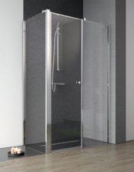 RADAWAY EOS II S1 90 J zuhanykabin oldalfal / FAL, 900x1950 mm, jobb / jobbos / 01 átlátszó üveg / 3799411-01R