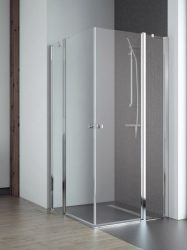 RADAWAY EOS II KDD 80 J szögletes zuhanykabin, dupla lengőajtós kivitel, 800x800x1950 mm, jobb / jobbos / 01 átlátszó üveg / 3799460-01R