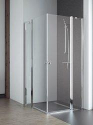 RADAWAY EOS II KDD 90 J szögletes zuhanykabin, dupla lengőajtós kivitel, 900x900x1950 mm, jobb / jobbos / 01 átlátszó üveg / 3799461-01R