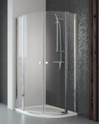 RADAWAY EOS II PDD 100 B íves zuhanykabin, dupla lengőajtós kivitel, 1000x1000x1950 mm, bal / balos / 01 átlátszó üveg / 3799472-01L
