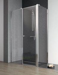 RADAWAY EOS II KDS 120 B szögletes / téglalap alapú / aszimmetrikus zuhanykabin 1200x1970 mm bal / balos / átlátszó üveg / 3799484-01L