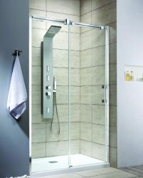 RADAWAY Espera DWJ 110 J tolóajtós zuhanyajtó / AJTÓ, 1100x2000 mm jobb / jobbos / 01 átlátszó üveg / 380111-01R