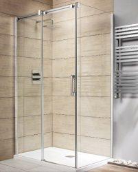RADAWAY Espera KDJ 100 B szögletes zuhanykabin tolóajtó / AJTÓ 1000x2000 mm bal / balos 01 átlátszó üveg / 380130-01L