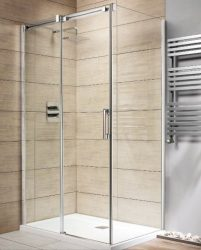 RADAWAY Espera KDJ 140 B szögletes zuhanykabin tolóajtó /AJTÓ 1400x2000 mm bal / balos / 01 átlátszó üveg / 380134-01L
