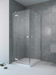 RADAWAY Fuenta New KDD 80 B bal / balos szögletes zuhanykabin AJTÓ 800x2000 mm / 01 átlátszó üveg / 384061-01-01L
