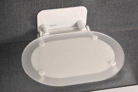 RAVAK Chrome zuhanykabinhoz ülőke Clear - Fehér, B8F0000028