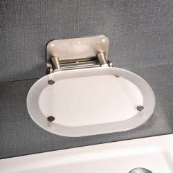 RAVAK Chrome zuhanykabin ülőke, Clear - Stainless / rozsdamentes, B8F0000029