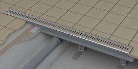 Ravak Zebra 850 OZP zuhanyfolyóka, műanyag lefolyóval és rozsdamentes acél ráccsal, X01434