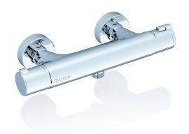 RAVAK TE 032.00/150 termosztátos fali zuhanycsaptelep szett nélkül, 150 mm, X070034