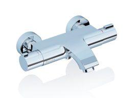 RAVAK termosztátos fali kádtöltő / kád csaptelep, szett nélkül, TE 082.00/150, X070046