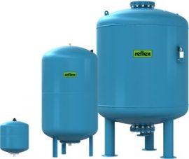 REFLEX Refix DE 60 l-es ivóvíz / ivóvizes tágulási tartály, 10 bar / 7306400