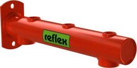 REFLEX tágulási tartály tartó konzol, 5 csatlakozóval, 5-25 literes tágulási tartályok fali rögzítéséhez