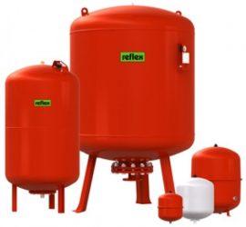 REFLEX N / NG 100 fűtési zárt tágulási tartály 100 l-es, 100 literes, álló, 8001411