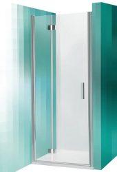 Roltechnik TZNL1/800 egyszárnyas nyitható zuhanyajtó / 80x200 cm-es / brillant profillal / transparent üveggel / TOWER LINE