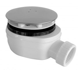 ROLTECHNIK Zuhanytálca szifon 90-es, inox, alacsony beépítéssel (63 mm magas) Cikkszám: RZS05/90