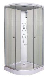 Sanotechnik Firenze TC01 hidromasszázs zuhanykabin 2 tolóajtóval TC01