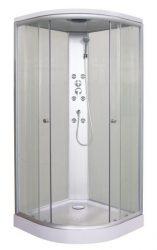 Sanotechnik Firenze TC01 hidromasszázs zuhanykabin, 2 tolóajtóval, komplett