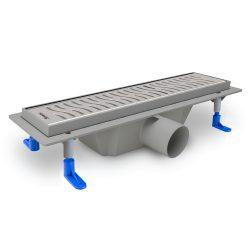 STYRON beltéri zuhanyfolyóka egyenes, rozsdamentes ráccsal, Harmony, 700 mm, STY-H-70, Harmony 700, 70 cm-es