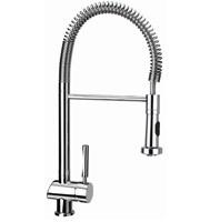 TEKA MY1 Mosogató csaptelep, forgatható, rozsdamentes acél flexibilis kifolyócső, vízkőmentes perlátor, kihúzható fej / zuhanyfej 18.160.02 / 1816002