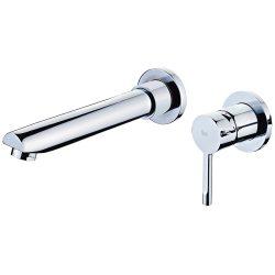 TEKA Alaior XL fali mosdó csaptelep / csap, kifolyócső: 178 mm, vízkőmentes perlátor, 22.461.02.00 / 224610200