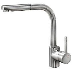TEKA Ark 938 I inox mosogató csaptelep, kihúzható zuhanyfejjel, króm, 23.938.12.0I / 23938120I